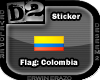 [D2] Flag Colombia