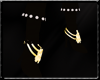 Pirate gold boots