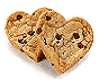 *Heart Shapes Cookies