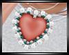 Valentine Heart -Peach