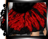 !   Feather Skirt Red