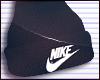 .Black Nike Beanie