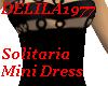Solitaria MiniDress-Blk