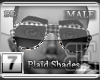 [BE] WhitePlaid|Shades M