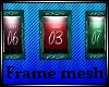 Triple frame mesh