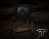{T} Old Broken TV