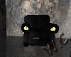 Black Halloween Chair