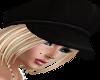 !Rae sexy hat blk blonde