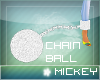 :Diamond HUGE ball chain