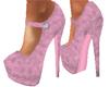 Royale Pink Topaz Suede