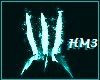 Teal Fire Claws