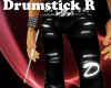 White drumstick Right