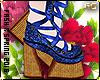 Clara-Ballet|Blue|sock