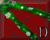Green christmas pants