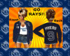 TB Rays outfit #9 Meyers