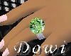 [DW]Green Diamond Ring