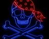 Bandana Neon Pirate
