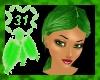 DC irish green hair