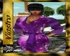(V)Purple Bath Robe