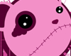 Pink Zombie Bear
