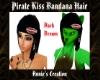 Brown Pirate Kiss Hair