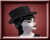 Goth Hat/Black Hair