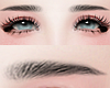 眉毛. Black Eyesbrows.