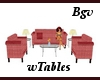 RGrainy Set & Tables 5p