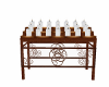 church candle rack