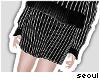🍩 Pinstripes; Skirt