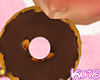 Choco Frosted Doughnut