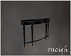 Black Wall Table