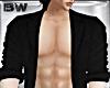 Black Open Suit