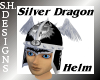 Silver Dragon Helm