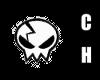~CH~ Wht Skull Beanie2 M
