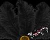 Tenni Black Feather fan