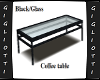 G-Black/Glass table