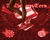 A.D. Red Jordan Sneakers