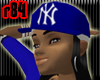 [r84] Blue NY Cap1 BlkH