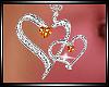 Birthstone Heart - Topaz