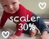 м| 30% Baby Scaler
