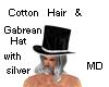 MD Cotton  Gabrean Hat M