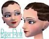 Sleek Curls in Ash Brown
