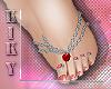 [kk] 💋hearts foot