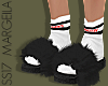 Vetement Slippers w/ Fur