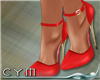 Cym Red Diva Shoes