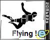 Flying Pose Animated