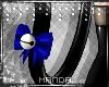 .M. PVC Kitten Tail Blue