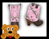 !A! Pink Mossy Boots