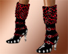 Puglisi leopard boots